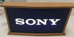Retro Sony Light Up Gaming Sign