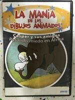 Casper Y Amici DVD Spending Paura IN Africa La Mania De Los Cartoni