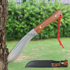 "Thai Knife 7"" Pocket Fixed Blade Full Tang Camping Survival Fishing With Sheath"
