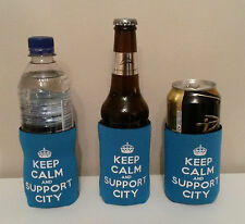 Christmas  Man City Gift For Him/Her Football Bottle & Can Cooler B2G1!