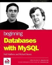 Beginning Databases with MySql