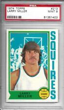 1974ToppsLarryMiller213PSA 9Squires