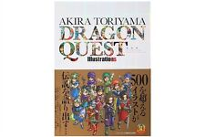 3-7 Days to Usa Dhl Dragon Quest Illustrations Akira Toriyama 30th Anniversary
