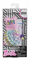 Mattel Barbie Hello Kitty Fashion Doll Clothes FXK82, Top & Skirt
