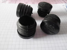 8 Gleiter  für runde Rohre - verstärkter Boden - 25 mm - zum reindrehen
