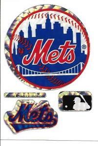 New York METS Baseball Vintage Sticker MLB Merchandise