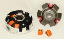 150cc HIGH PERFORMANCE VARIATOR SET W/12gm SLIDERS FOR SCOOTERS WITH GY6 MOTORS