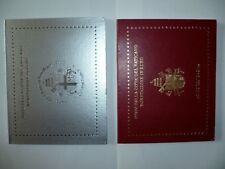 Vaticano 8 KMS (1c-2e) 2003 a 2010 in FOLDER ORIGINALE