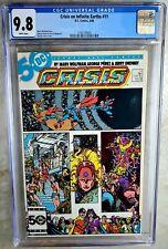 Crisis on Infinite Earths #11 D.C. 1986 CGC 9.8 NM/MT WP Comic Q0102