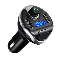 Bluetooth Car Kit FM Transmitter Wireless Radio Adapter USB Charger for Phone US