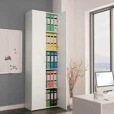vidaXL Office Cabinet White 60x32x190 Cm Chipboard