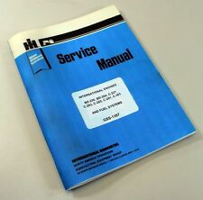 INTERNATIONAL FARMALL 606 TRACTOR GAS ENGINE SERVICE REPAIR MANUAL IH LPG LP