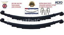 4 (Vier) Heavy Duty Blattfeder U-Bolzen Iveco Daily 35C 40c 45C 50C Zwillingsrad