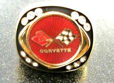 Corvette C3 14 Carat Gold Filled Signet Ring