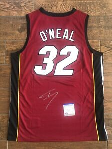 Shaquille O'Neal Autographed Miami Heat Jersey Shaq Signed PSA/DNA ITP COA