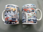 Ford 70s Cop Cars, Coffee Mug by Steven Binks. Cortina, Capri, Escort, etc.