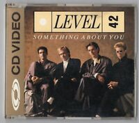 Level 42 CDV CD-Video SOMETHING ABOUT YOU 1987 UK 080 003-2 NTSC 4-track Polydor
