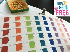 PP078 -- Small Towel Life Planner Die-cut Stickers for Erin Condren (56 pcs)