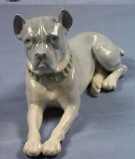 mastiff Hund hundefigur porzellanfigur pfeffer Gotha 1900 dogge figur