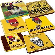 Dessous de verres Serie « BANANIA »