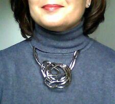 Schlangen Kette biegsam flexibel silber farben Stahl steel snake necklace NEU