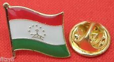 Tajikistan Country Flag Lapel Hat Tie Pin Badge Cumhuriyi Tocikiston Brooch Gift