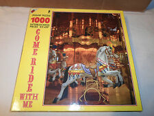 NEW Apple Street 1000 Piece Puzzle *Come Ride With Me Carousel Horse Pony Circus