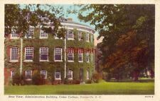 REAR VIEW, ADMINISTRATION BUILDING, COKER COLLEGE, HARTSVILLE, SC