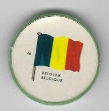 1963 General Mills Flags of the World Premium Coins #46 Belgium