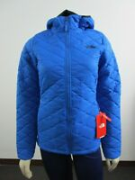 Womens The North Face Thermoball Hoodie Puffer Hooded Insulated Jacket - Blue