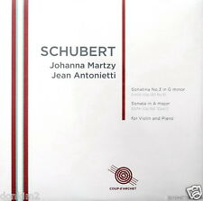 SEALED 180g - MARTZY / Schubert Violin Sonatas / UK COUP d'ARCHET, COUP 022