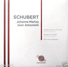 JOHANNA MARTZY / Schubert Violin Sonatas / UK COUP d'ARCHET, COUP 022
