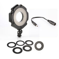 R-160 Pro 6 Ring LED Video Light 160 LED 5600K for Macro Photography DSLR Camera