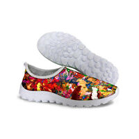 Cool NEW RUNNING TRAINERS WOMEN'S WALKING SHOCK ABSORBING SPORTS FASHION SHOES