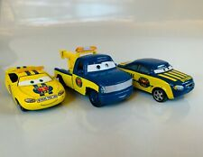 Disney Pixar Cars Piston Cup-Dexter Hoover, Charlie Checker, & Race Official Tom