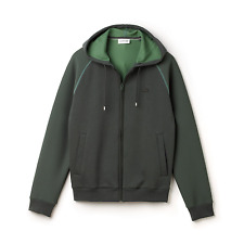 LACOSTE BIG& TALL MENS DOUBLE-FACE PIQUÉ HOODIE, 2XL