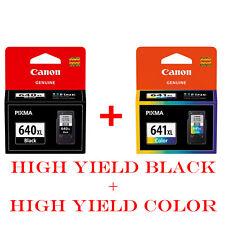 2pcs Genuine Canon PG-640XL CL-641XL PG640XL CL641XL PG 640XL CL 641XL
