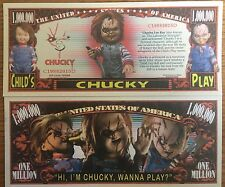 Child's Play Million Dollar Bill ( Chucky )