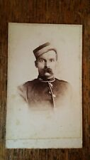 1870'S ANTIQUE CDV PHOTOGRAPH SOLDIER - SYMONDS & CO PORTSMOUTH HAMPSHIRE