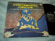 Gong w/ Daevid Allen - Continental Circus LP EXC Philips France orig psych prog