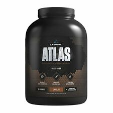 Legion Atlas Weight Gainer Supplement - Chocolate, 5.22 LBS - FAST SHIP!!!