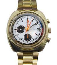 Vintage 60s TISSOT NAVIGATOR Pilots  Automatic Date Chronograph