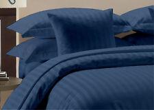 1000 TC Navy Striped RV Camper & Bunk Sheet Set All Sizes Egyptian Cotton