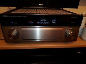 Yamaha MusicCast RX-A3080 9.2-Netzwerk-A/V-Receiver 150 Watt, TITAN