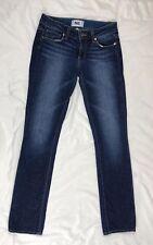 Paige Womens Kelsi Straight Leg Jeans Dark Wash Size 24X30