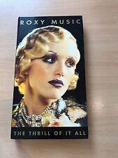Roxy Music - The Thrill Of It All (4x CD Box Set) *RARE*