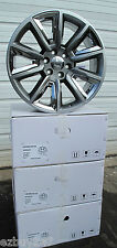 "22"" NEW CHEVROLET SUBURBAN SILVERADO TAHOE HYPER / CHROME WHEELS 5696 SET OF 4"