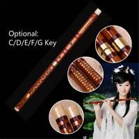 Bamboo Flute Woodwind Flutes Musical instruments C D E F G Key Chinese Dizi.!