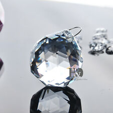 1 Clear Feng Shui Crystal Ball Lamp Prism Rainbow Suncatcher Wedding Decor 20mm
