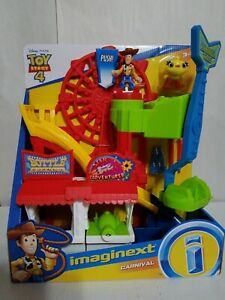 Fisher-Price Imaginext Disney Pixar Toy Story 4 Carnival New